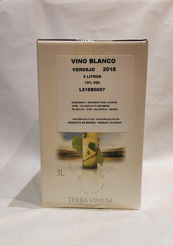 Vino blanco verdejo 5L